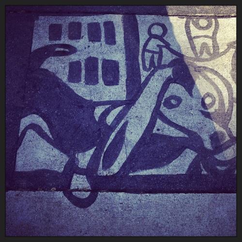 Dachshund Street Art - Toronto